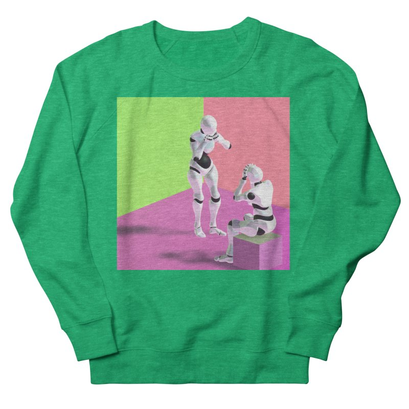 [Post Internet] Women's Sweatshirt by [parallax visions]