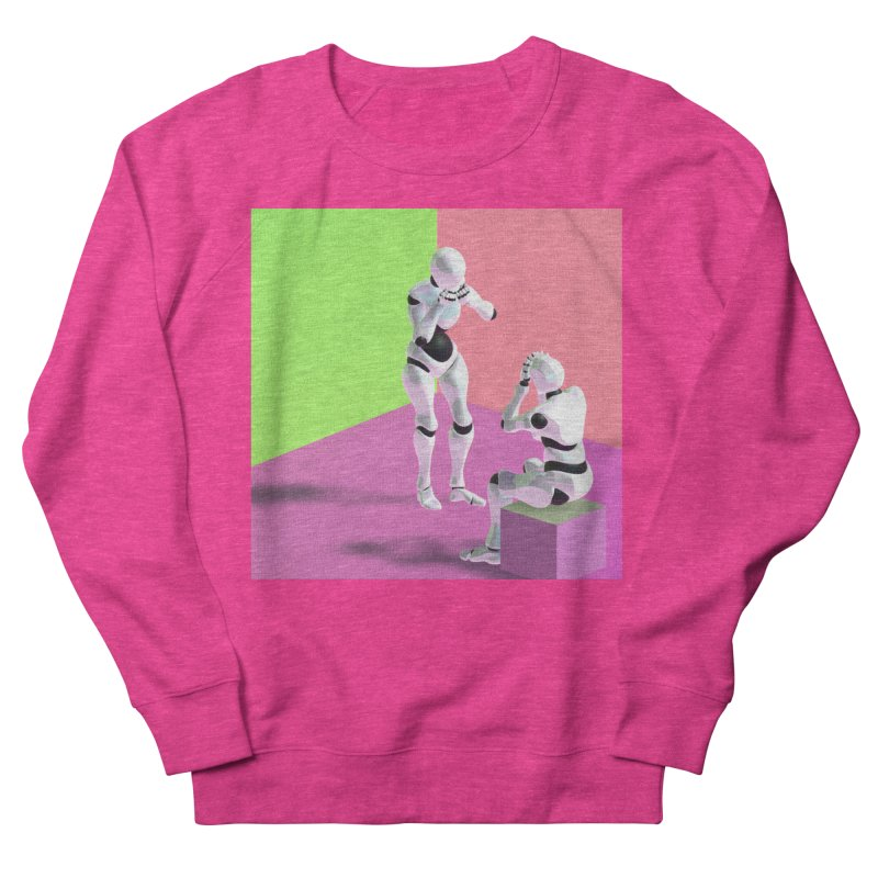 [Post Internet] Women's French Terry Sweatshirt by [parallax visions]