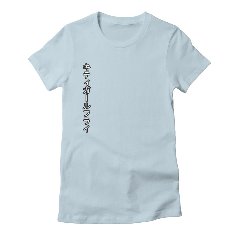 Kitty Girl Fly Women's T-Shirt by [parallax visions]
