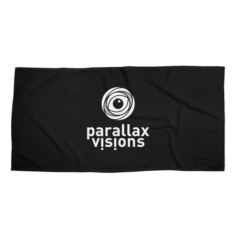 Parallax Visions Logo Accessories Beach Towel by [parallax visions]