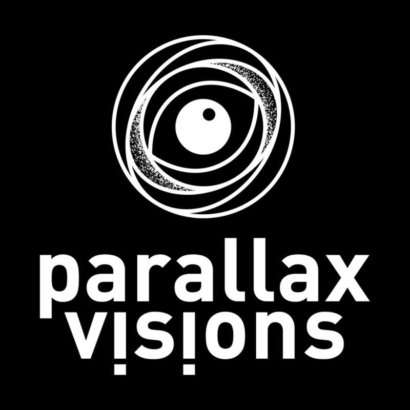 Parallax Visions Logo Home Throw Pillow by [parallax visions]