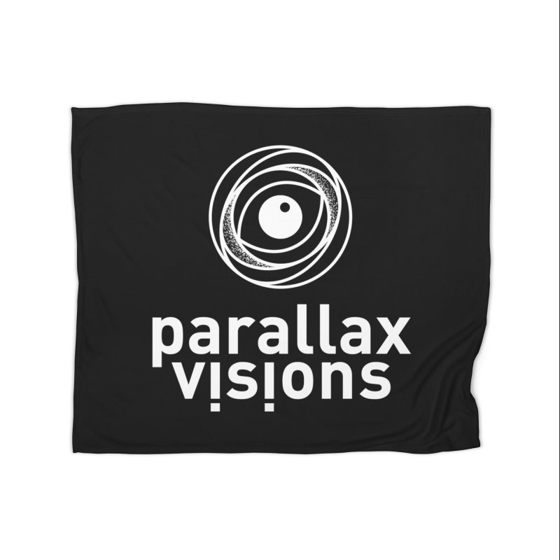 Parallax Visions Logo Home Blanket by [parallax visions]