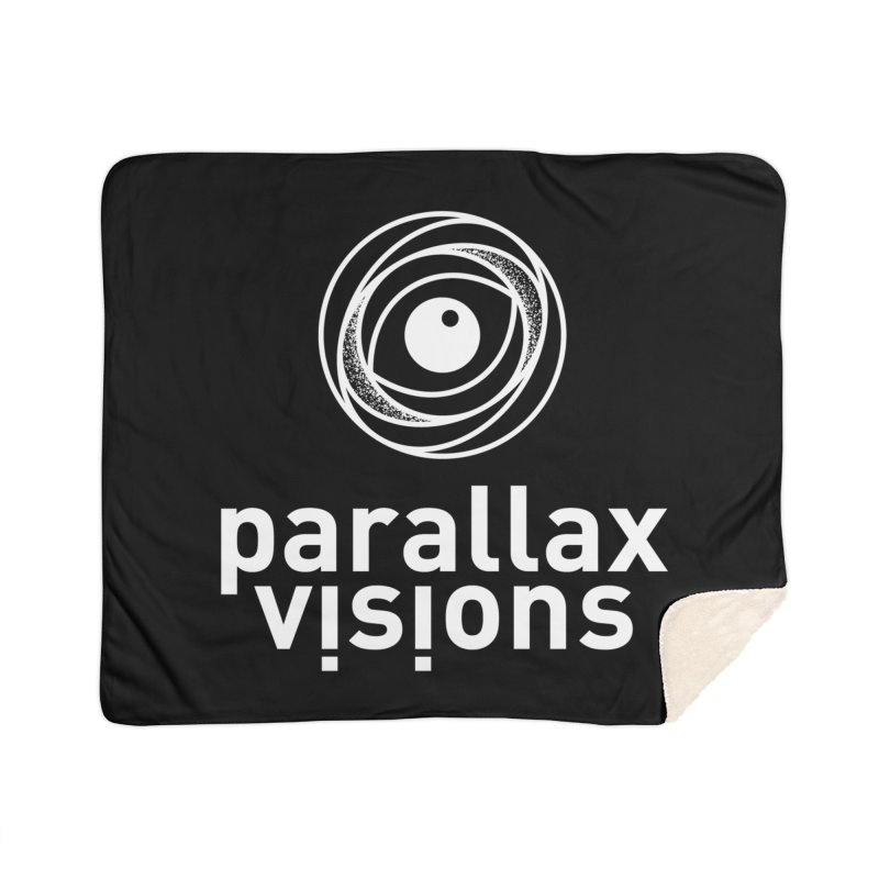 Parallax Visions Logo Home Sherpa Blanket Blanket by [parallax visions]