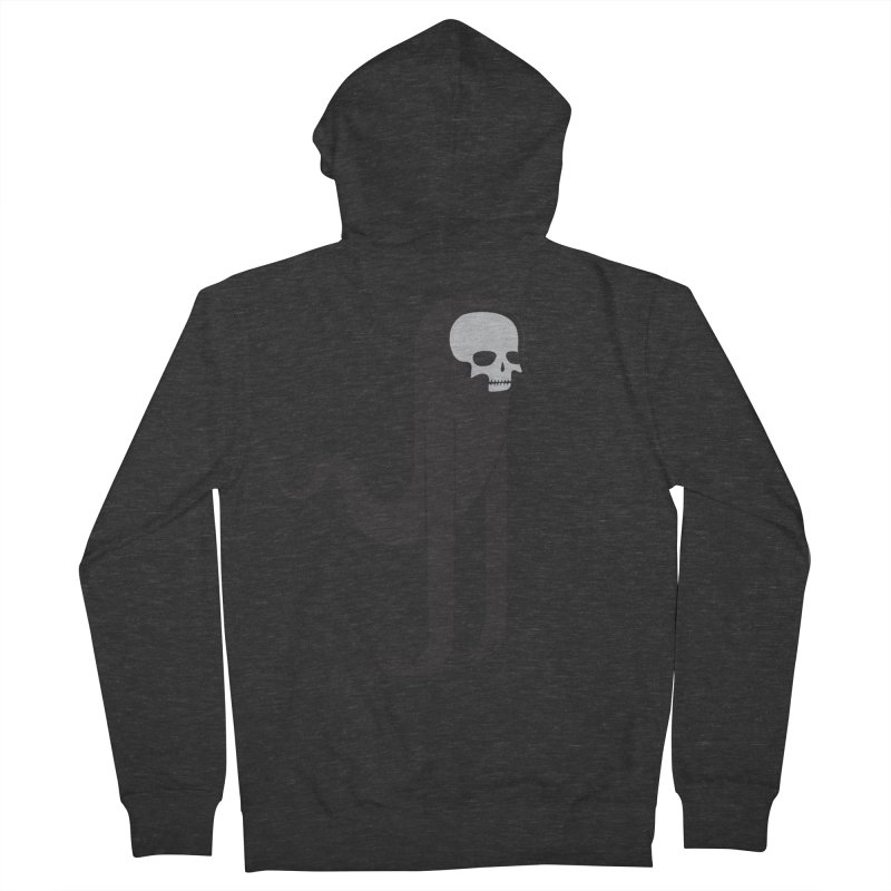 Ghost Men's Zip-Up Hoody by parallelish's Artist Shop