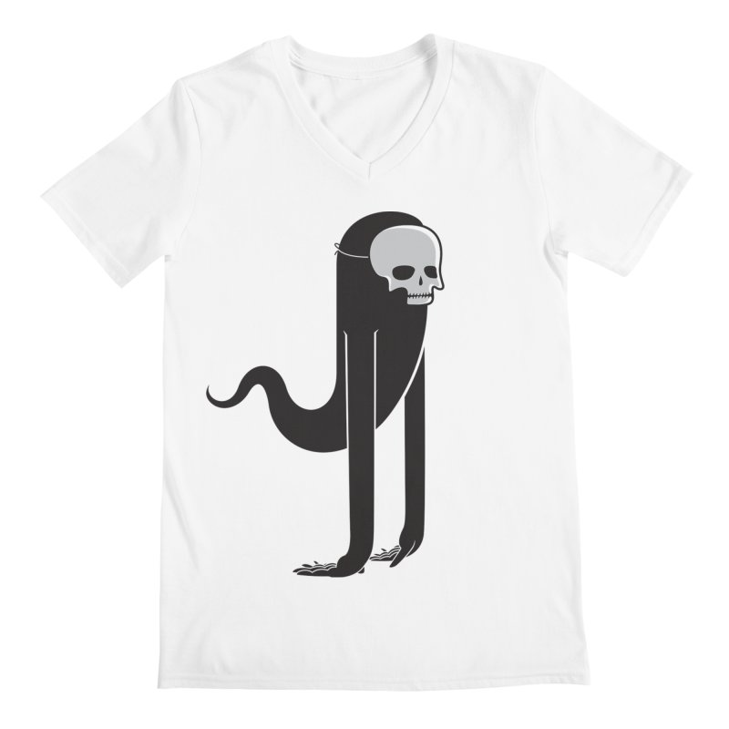 Ghost Men's V-Neck by parallelish's Artist Shop