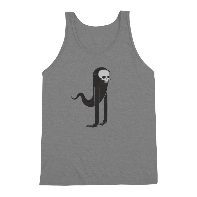 Ghost Men's Triblend Tank by parallelish's Artist Shop