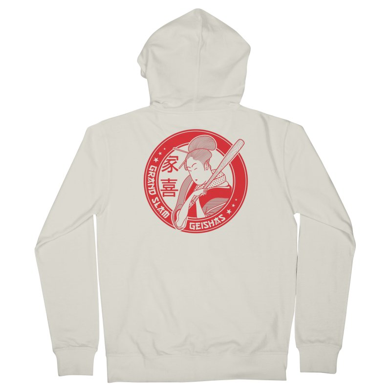 Grand Slam Geishas Men's Zip-Up Hoody by parallelish's Artist Shop