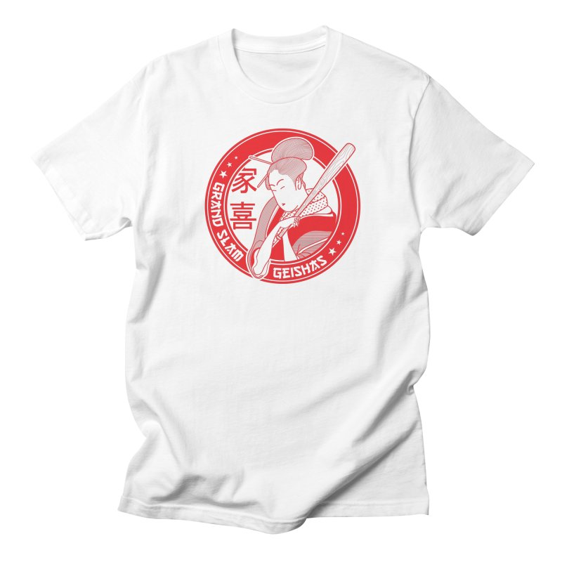 Grand Slam Geishas Men's Regular T-Shirt by parallelish's Artist Shop