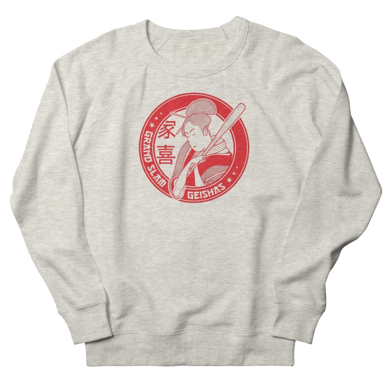 Grand Slam Geishas Men's Sweatshirt by parallelish's Artist Shop