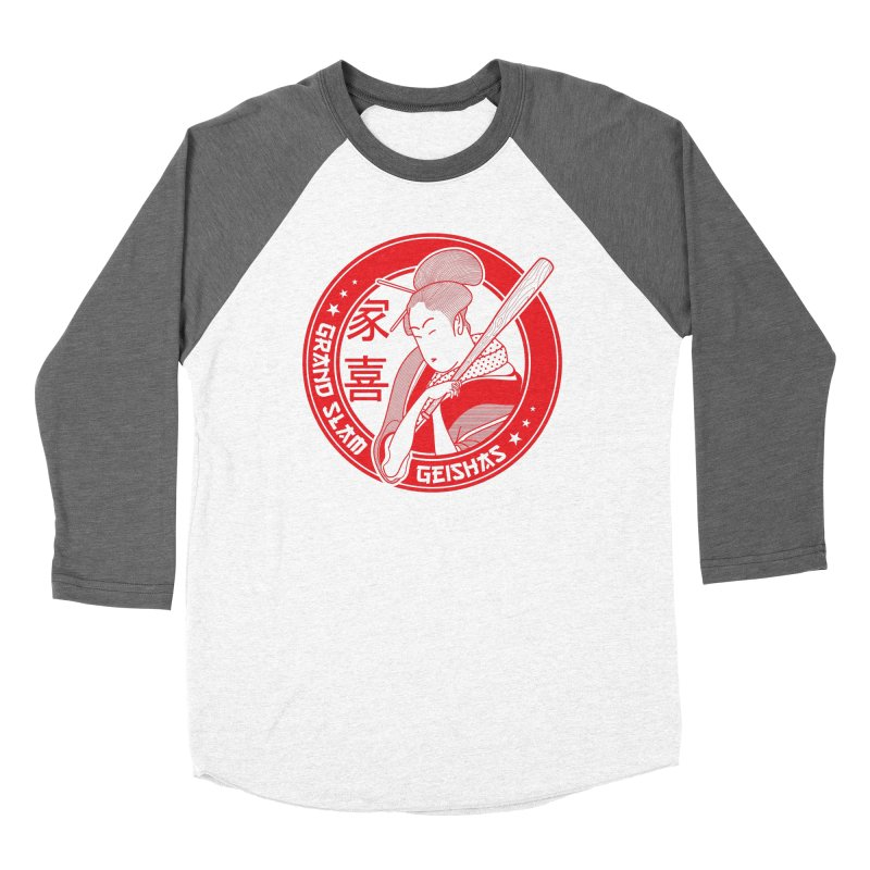Grand Slam Geishas Men's Baseball Triblend T-Shirt by parallelish's Artist Shop