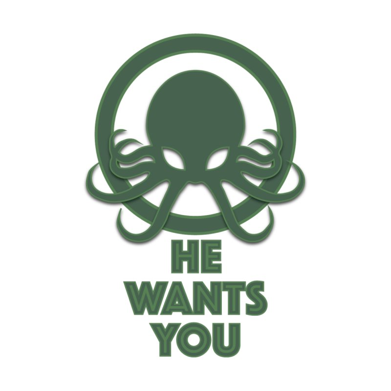 Cthulu wants you by Parkaboy Designs