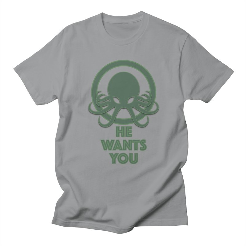 Cthulu wants you Men's T-Shirt by Parkaboy Designs