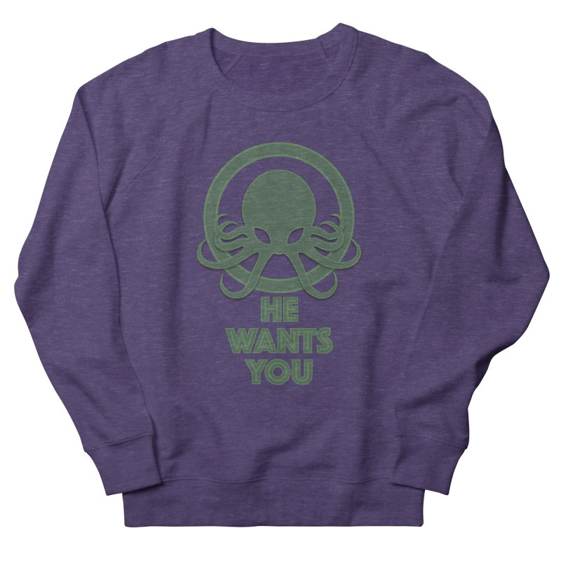 Cthulu wants you Women's Sweatshirt by Parkaboy Designs