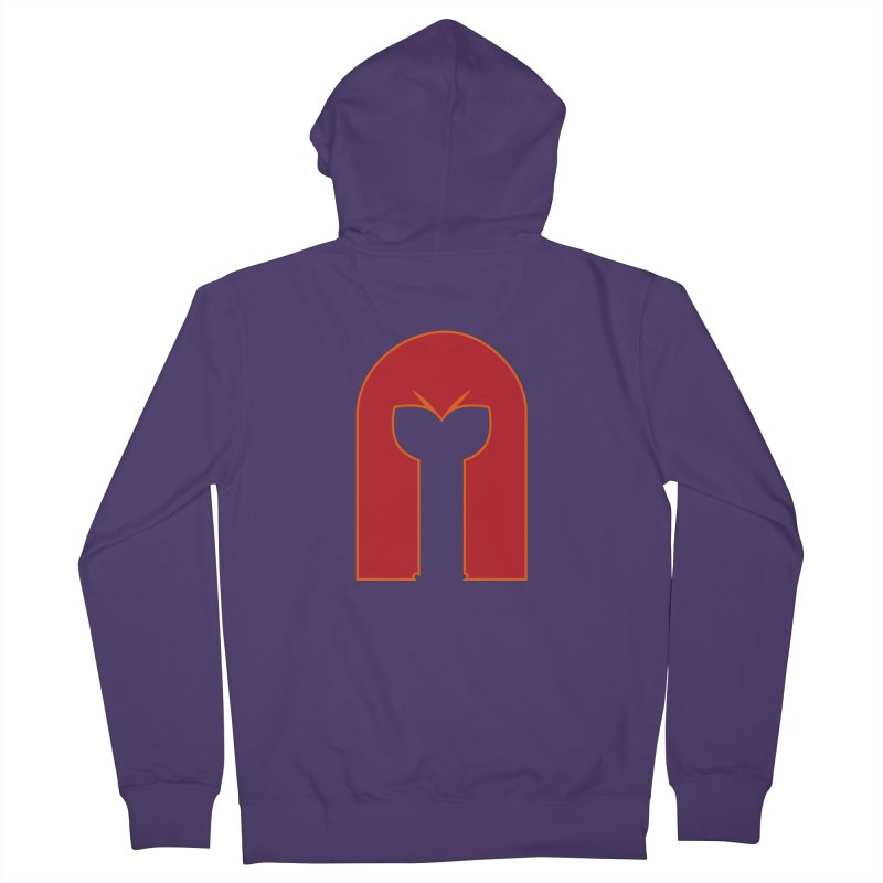 Magnet Draw Women's Zip-Up Hoody by Parkaboy Designs