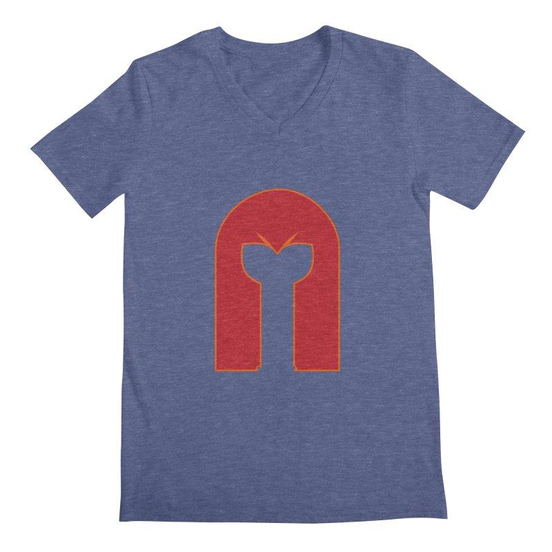 Magnet Draw Men's V-Neck by Parkaboy Designs
