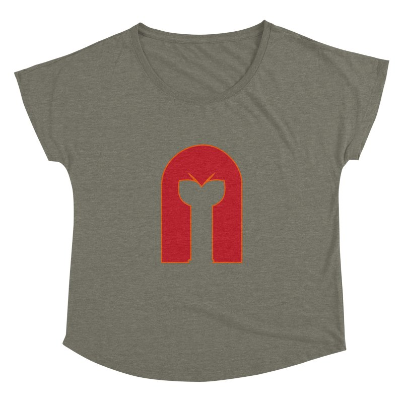 Magnet Draw Women's Dolman by Parkaboy Designs