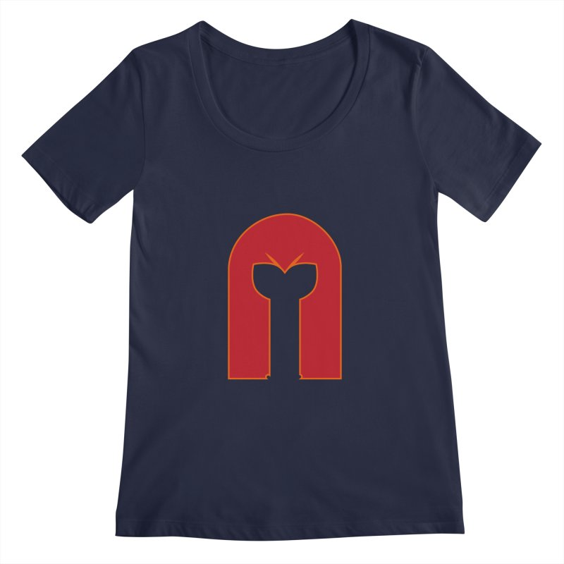 Magnet Draw Women's Scoopneck by Parkaboy Designs