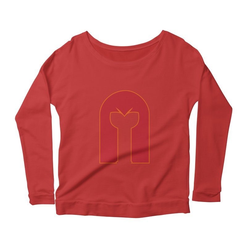 Magnet Draw Women's Longsleeve Scoopneck  by Parkaboy Designs