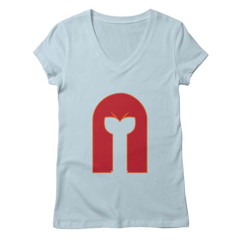 Magnet Draw Women's V-Neck by Parkaboy Designs