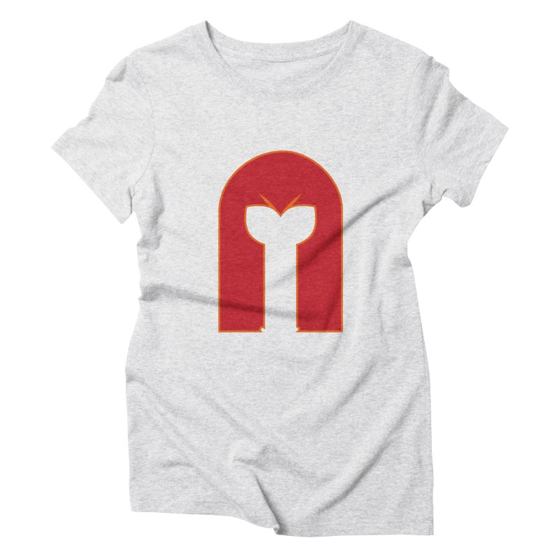 Magnet Draw Women's Triblend T-Shirt by Parkaboy Designs
