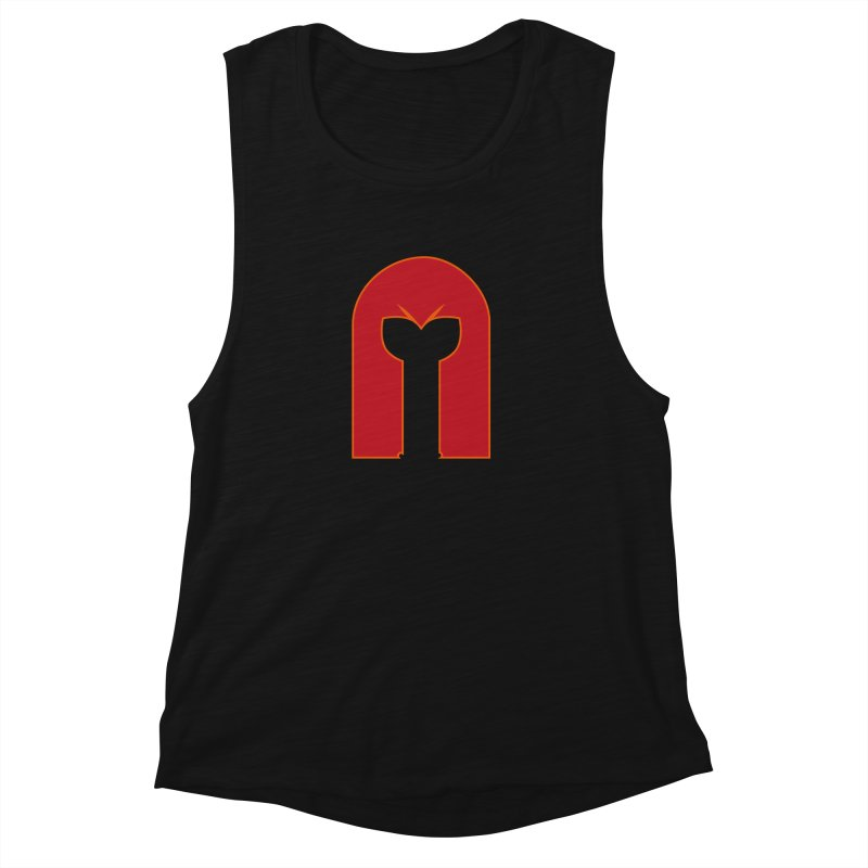 Magnet Draw Women's Muscle Tank by Parkaboy Designs