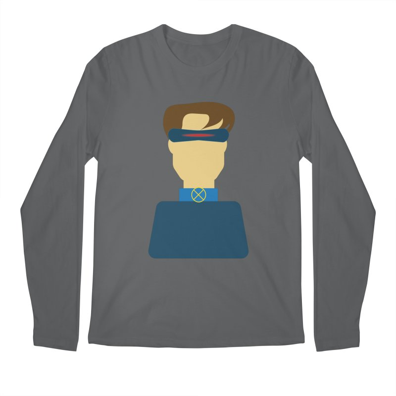 One-eyed hero Men's Longsleeve T-Shirt by Parkaboy Designs