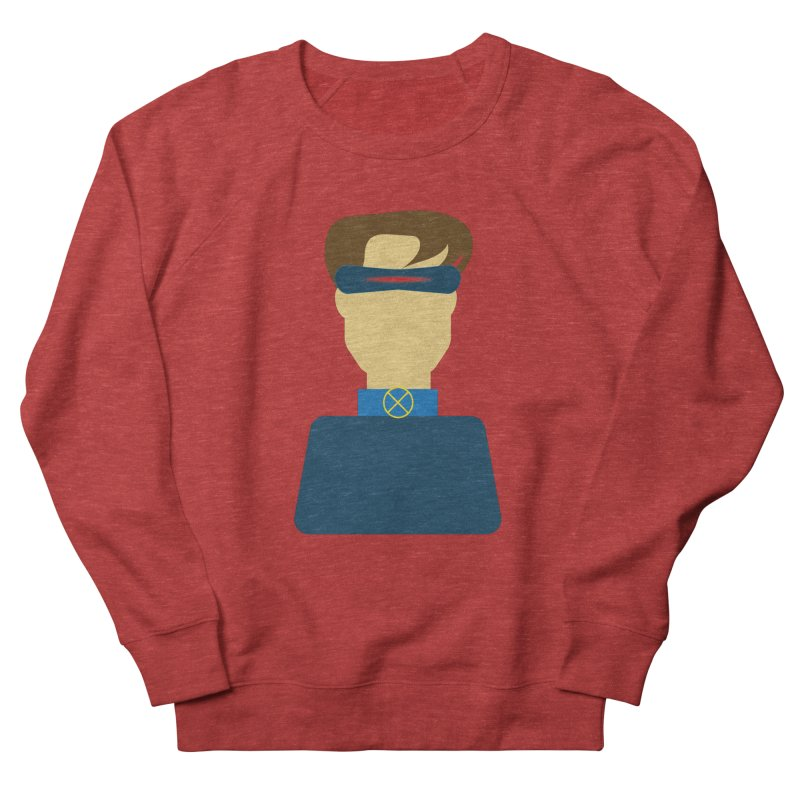 One-eyed hero Men's French Terry Sweatshirt by Parkaboy Designs