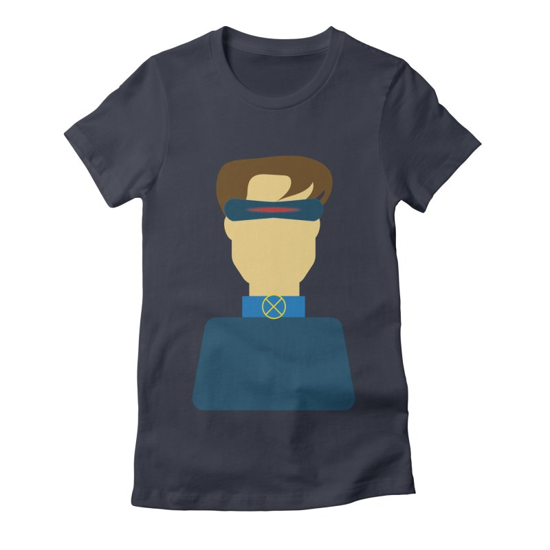 One-eyed hero Women's Fitted T-Shirt by Parkaboy Designs