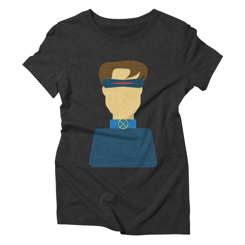 One-eyed hero Women's Triblend T-shirt by Parkaboy Designs