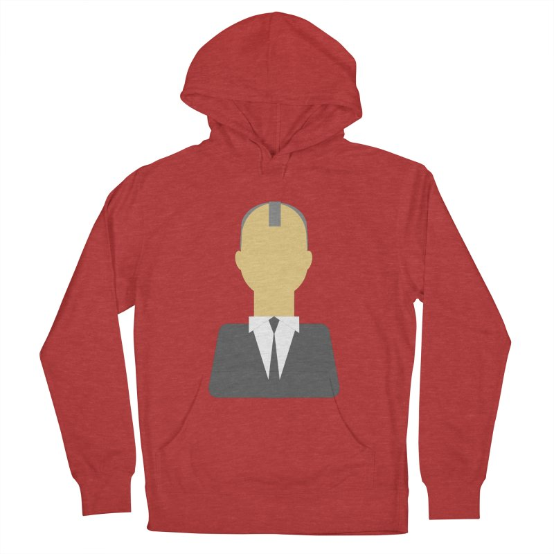 Breaking X Bald Men's Pullover Hoody by Parkaboy Designs