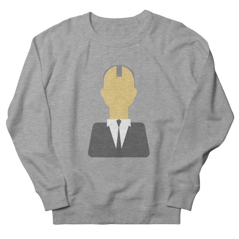 Breaking X Bald Men's French Terry Sweatshirt by Parkaboy Designs