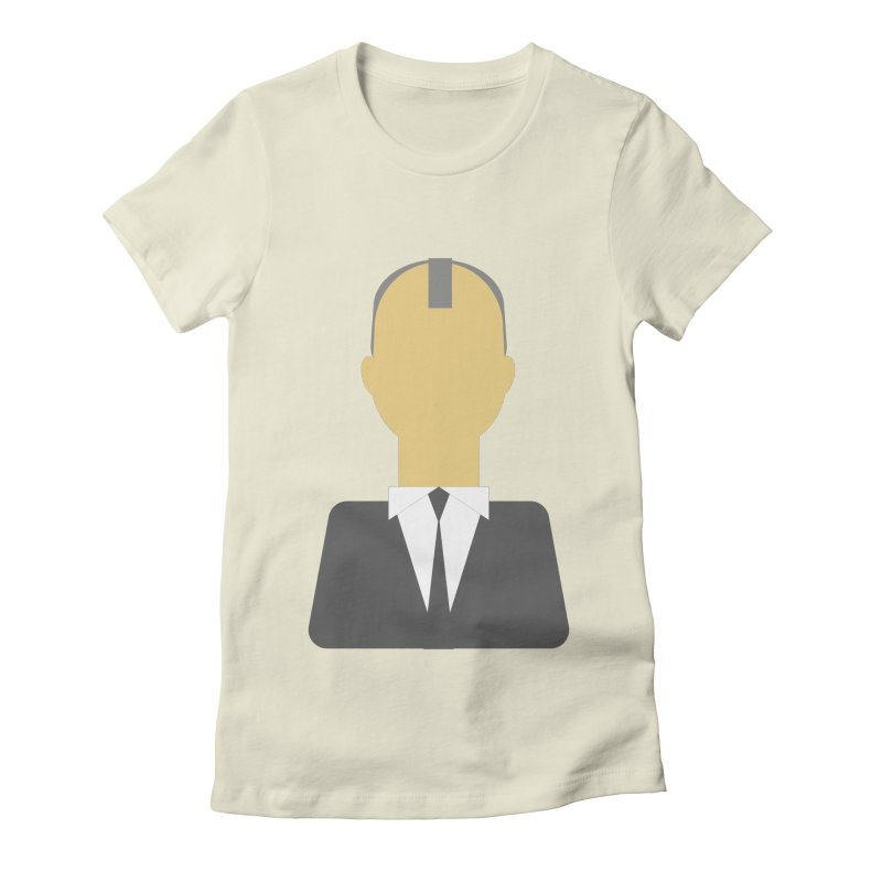 Breaking X Bald Women's Fitted T-Shirt by Parkaboy Designs
