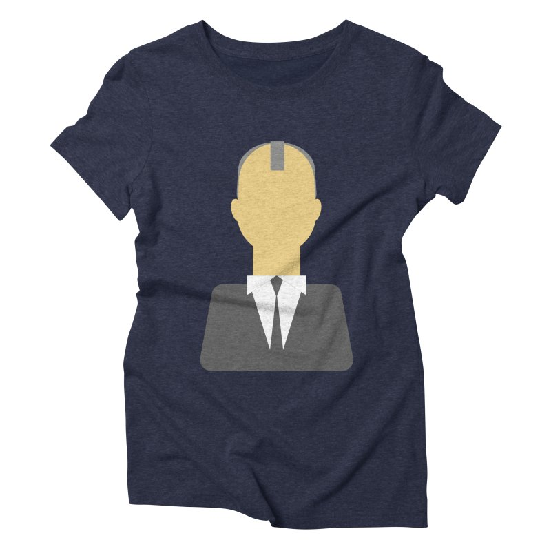 Breaking X Bald Women's Triblend T-shirt by Parkaboy Designs
