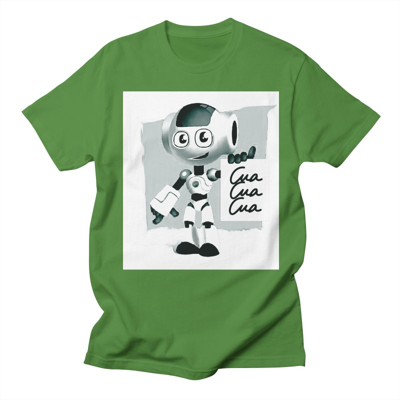 Robot CuaCuaCua Men's T-shirt by Parkaboy Designs