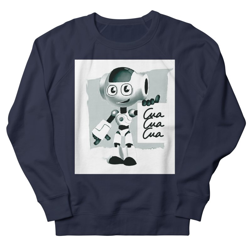 Robot CuaCuaCua Women's Sweatshirt by Parkaboy Designs