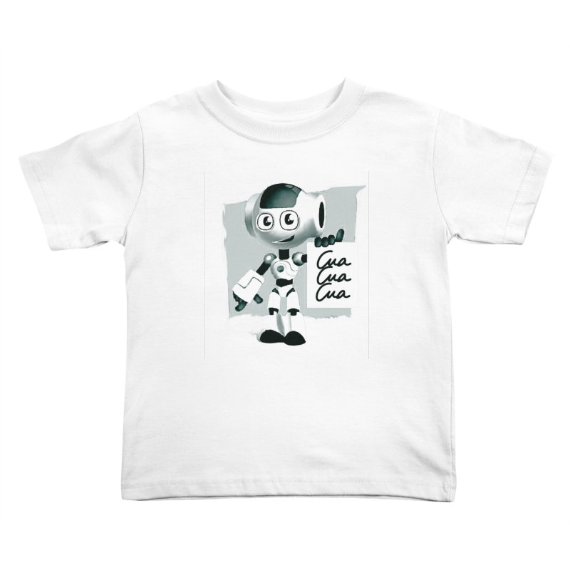 Robot CuaCuaCua Kids Toddler T-Shirt by Parkaboy Designs