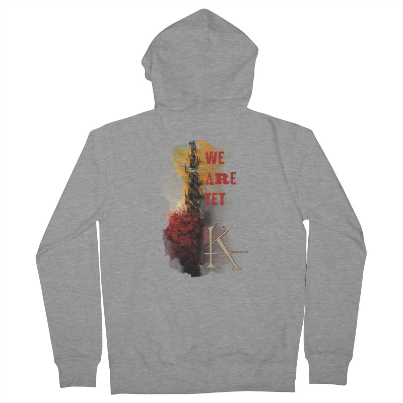 We are Tet Women's Zip-Up Hoody by Parkaboy Designs
