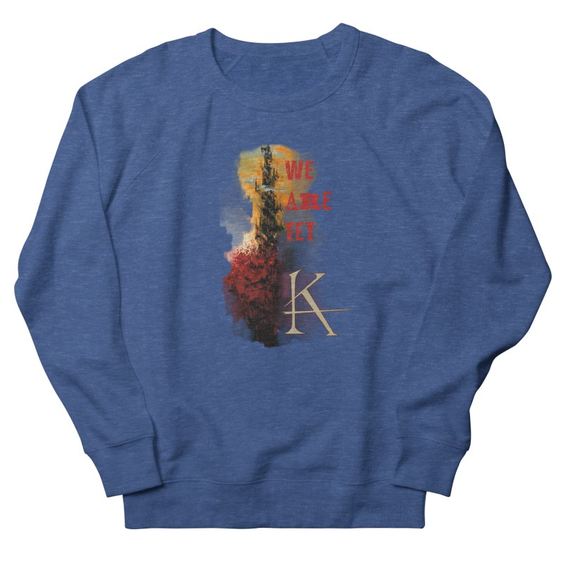 We are Tet Men's French Terry Sweatshirt by Parkaboy Designs