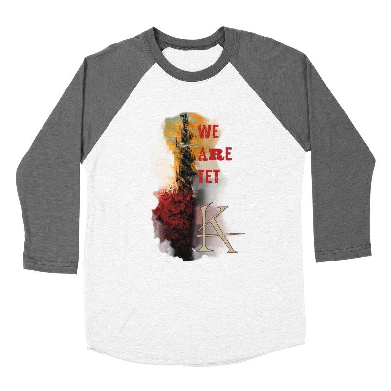 We are Tet Men's Baseball Triblend Longsleeve T-Shirt by Parkaboy Designs