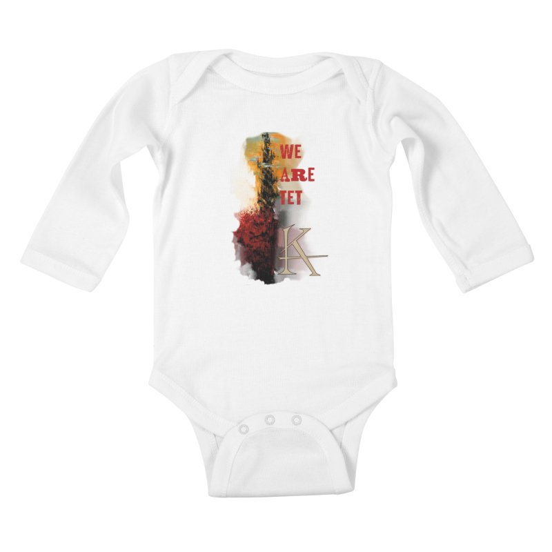 We are Tet Kids Baby Longsleeve Bodysuit by Parkaboy Designs