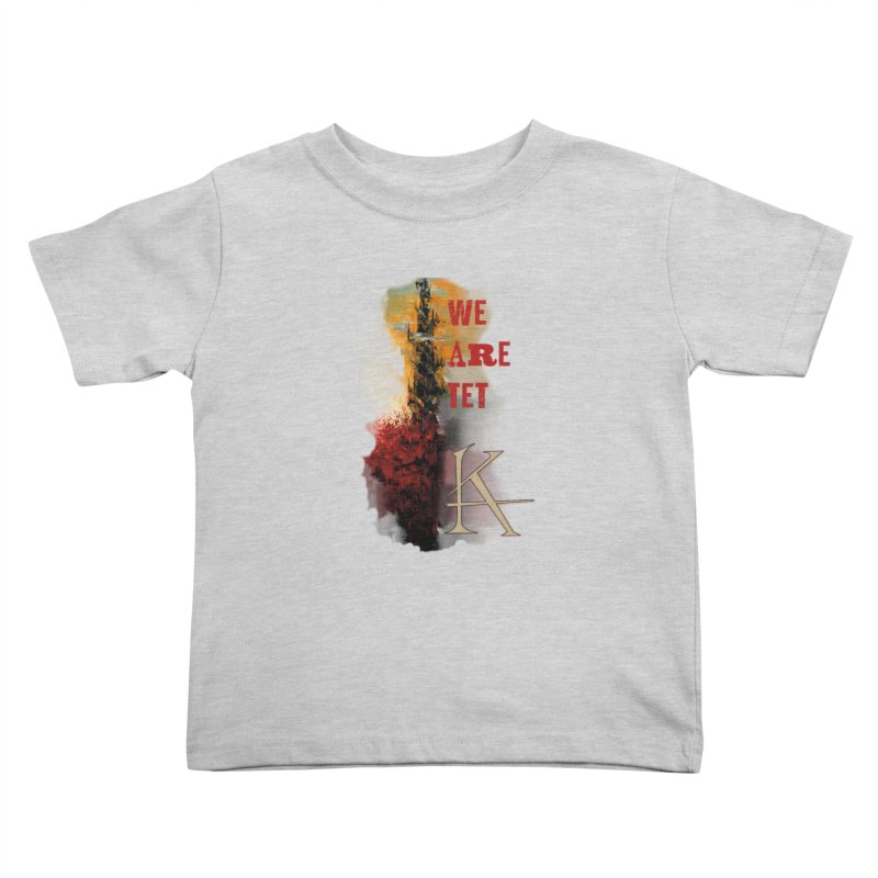 We are Tet Kids Toddler T-Shirt by Parkaboy Designs