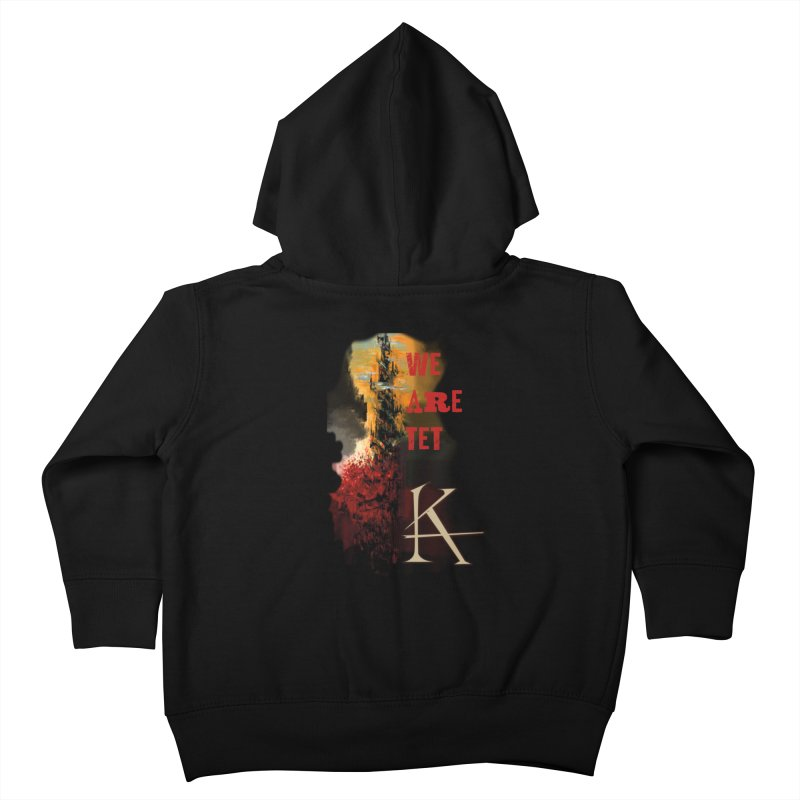 We are Tet Kids Toddler Zip-Up Hoody by Parkaboy Designs