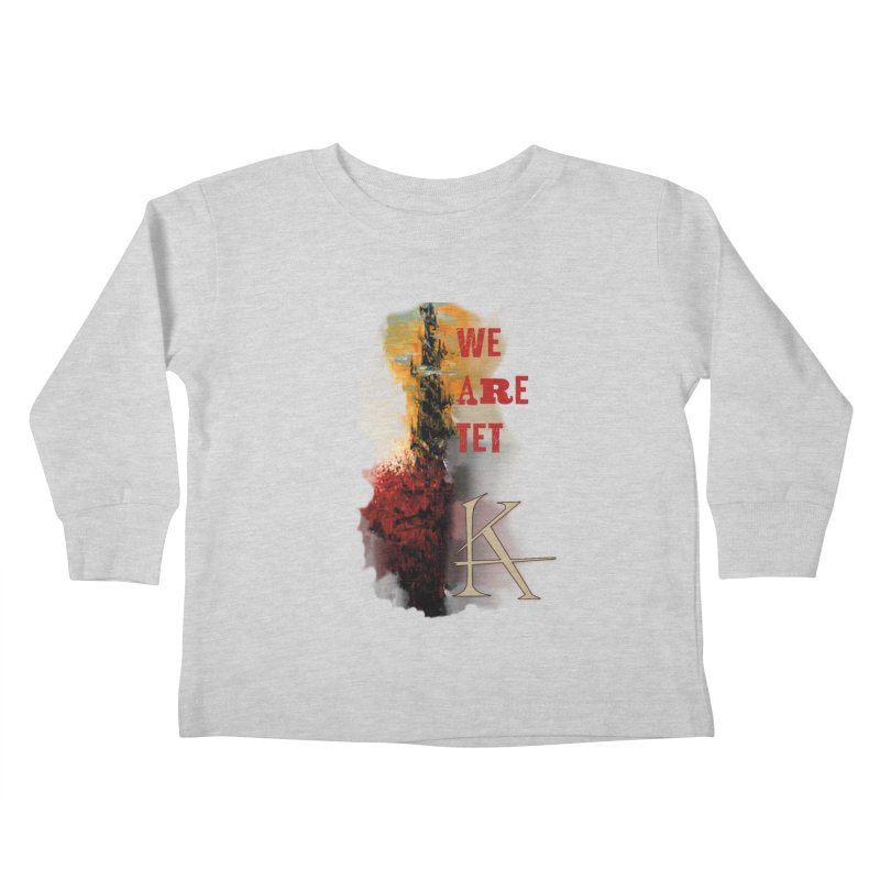 We are Tet Kids Toddler Longsleeve T-Shirt by Parkaboy Designs
