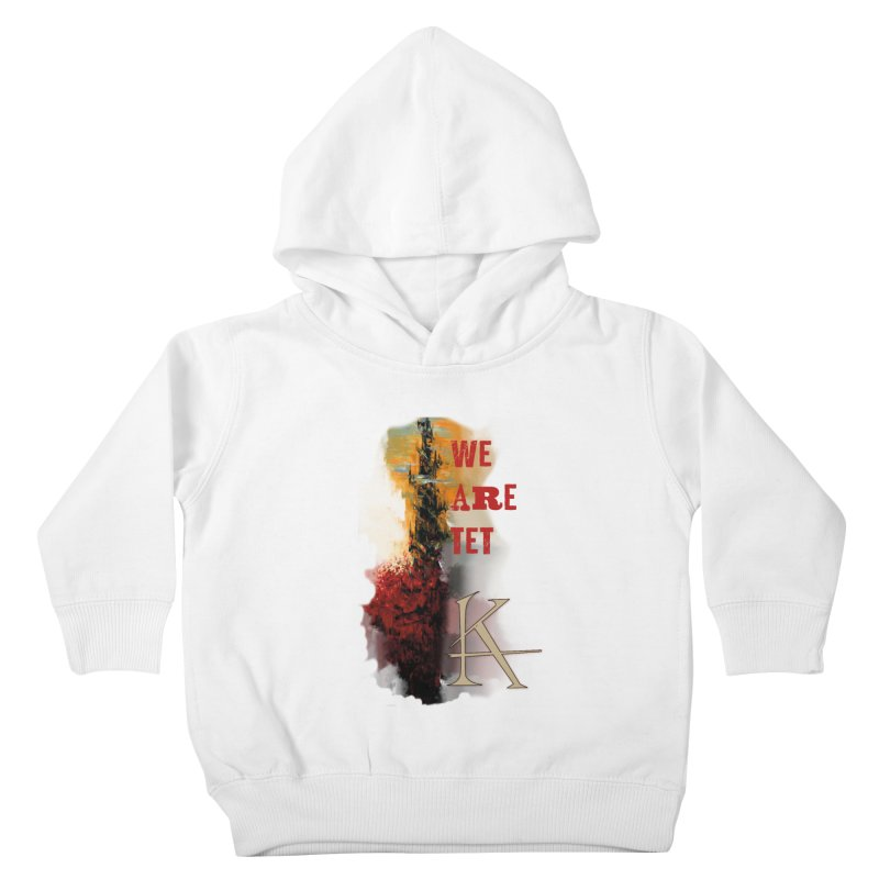 We are Tet Kids Toddler Pullover Hoody by Parkaboy Designs