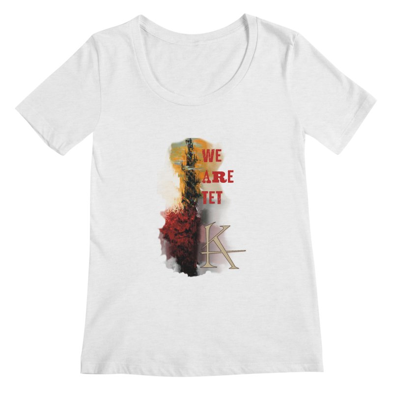 We are Tet Women's Scoopneck by Parkaboy Designs