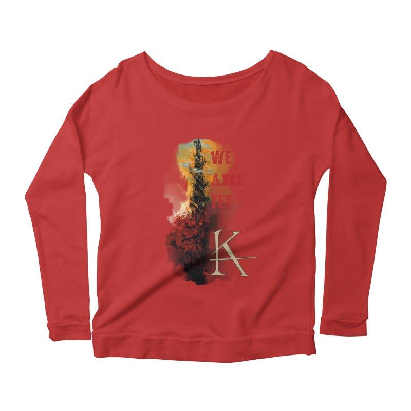 We are Tet Women's Longsleeve Scoopneck  by Parkaboy Designs