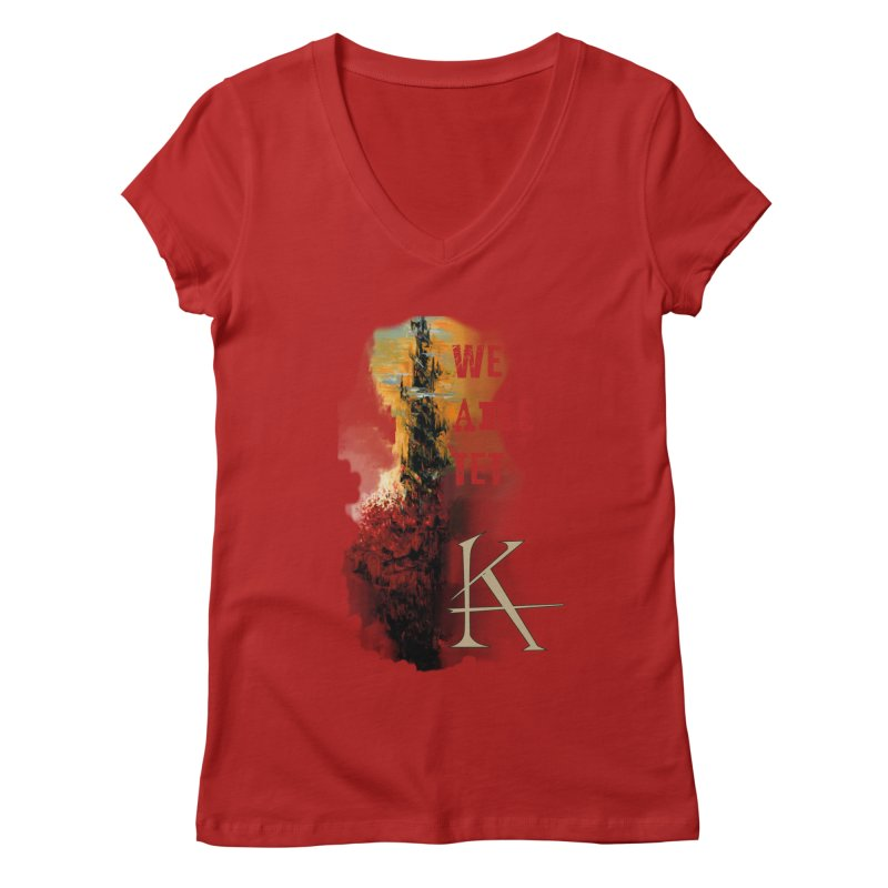 We are Tet Women's V-Neck by Parkaboy Designs