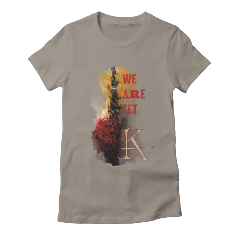 We are Tet Women's Fitted T-Shirt by Parkaboy Designs