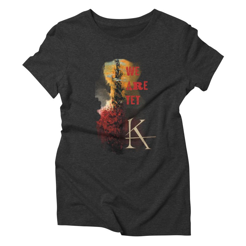 We are Tet Women's Triblend T-shirt by Parkaboy Designs