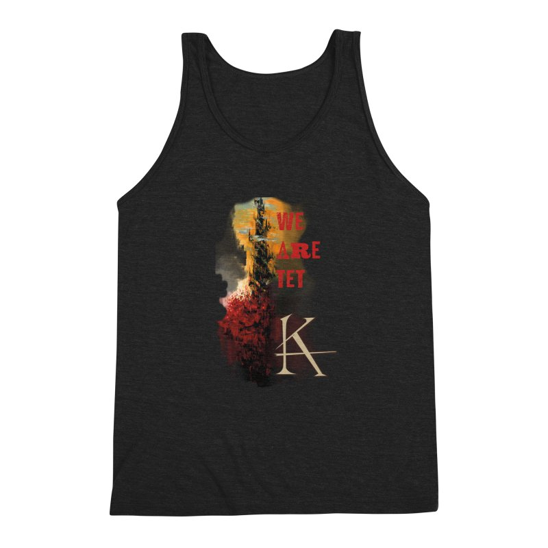 We are Tet Men's Triblend Tank by Parkaboy Designs